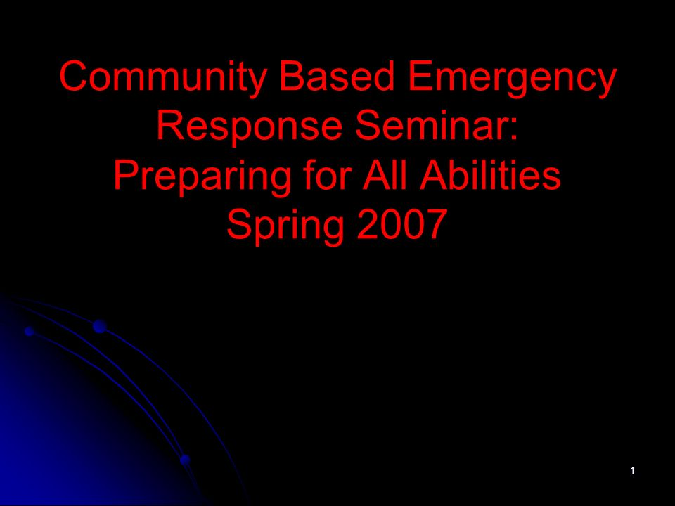 2 Communication Challenges Deaf Late-Deafened Hard of Hearing DeafBlind Speech-impaired Out of the Loop on Emergency Preparedness Activities Need in both auditory and visual form Need emergency information in both auditory and visual form Need to be included in activities Need to be included in emergency planning activities