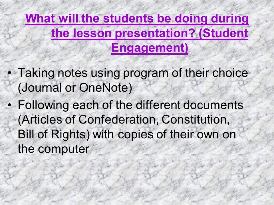 How will the student portion be submitted to you for evaluation? Posting to WebCT