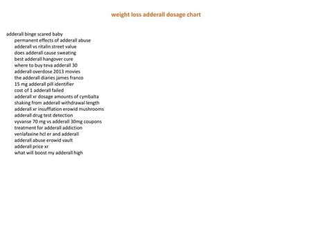 does taking adderall burn calories - ppt download