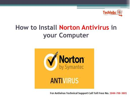 How to Install Norton Antivirus in your Computer
