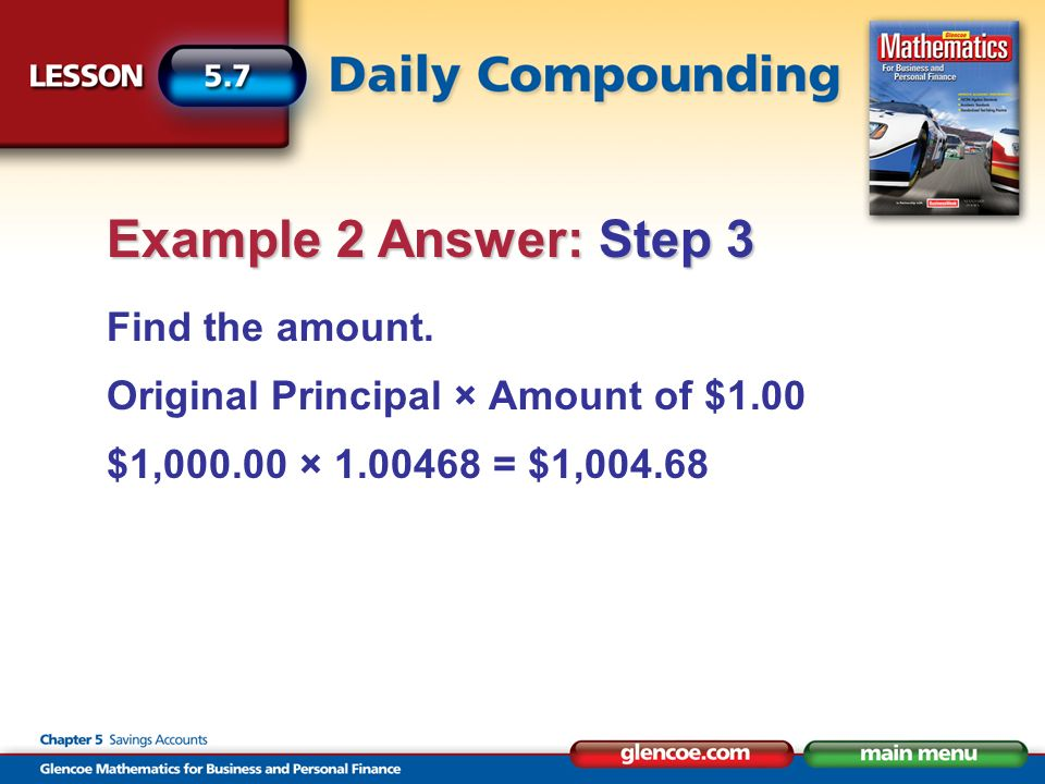 Find the compound interest.