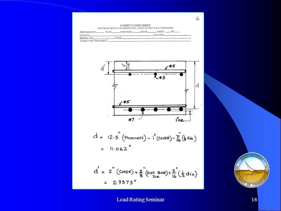 Load Rating Seminar17