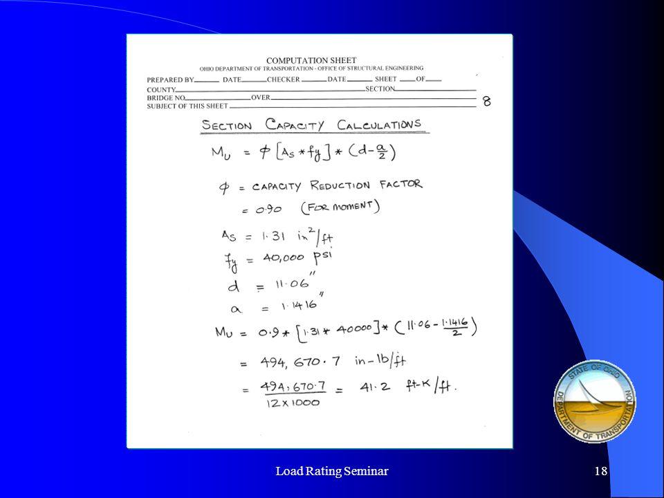 Load Rating Seminar19