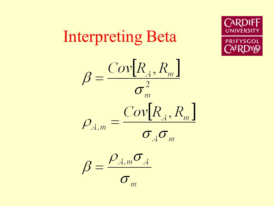 Interpreting Beta