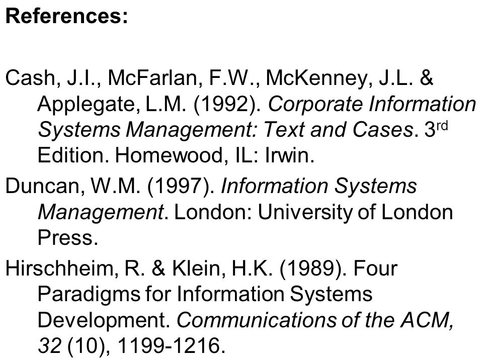 References for students who are interested in further reading can be found on page 14 of the study guide.