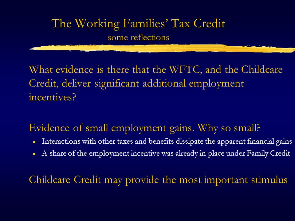 Do childcare subsidies create employment.