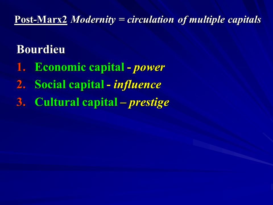 Modernity = Global Society Globalisation 1.Global Economy – TNCs; free flow of resources 2.Global Politics – end of history?; end of nation-states.