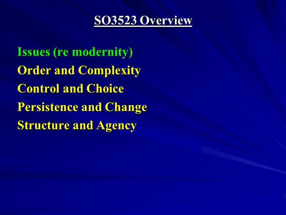 Marx Modern Social Order Class The economic base (substructure) of society.