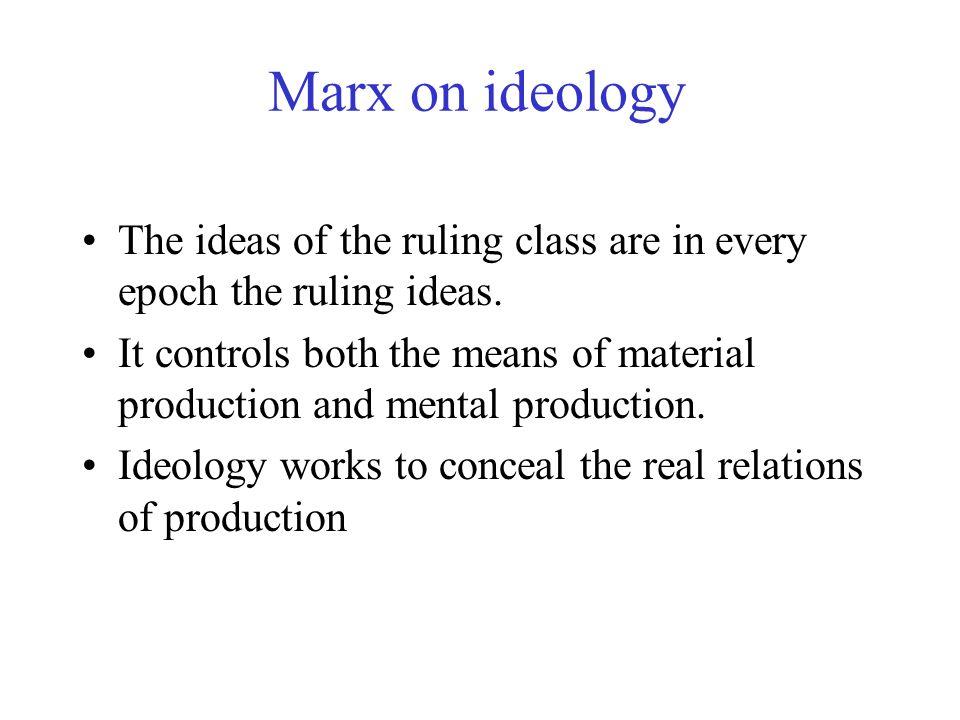 Gramsci and hegemony.