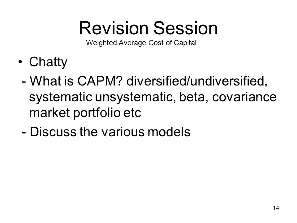 15 Revision Session Funding MN20211 Equity and debt, Debt/bonds and Investments 1.