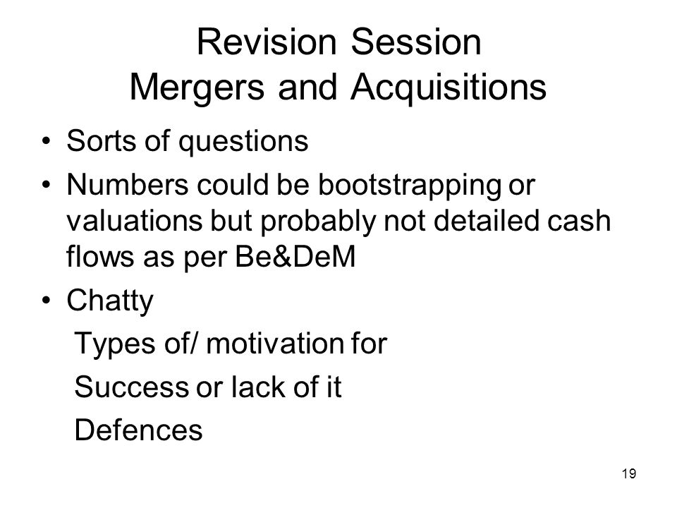 20 Revision Session Project Finance MN20211Projectfinance and following files to Equity and debt.