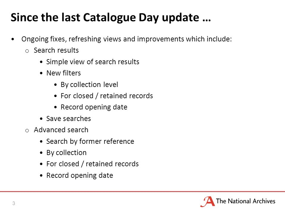 Update continued … Registration and user accounts o Tags o Bookmarks Suggest a correction form Order documents onsite from within Discovery Added DocumentsOnline data o Preview images o Added shopping basket to order digitised records o Closed DocumentsOnline New databases o digital-accessions => Home Guard Browse o Browse by catalogue order 4