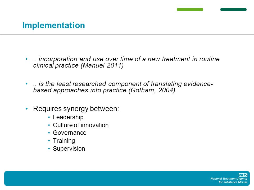 Phases of treatment: plan, review, optimise