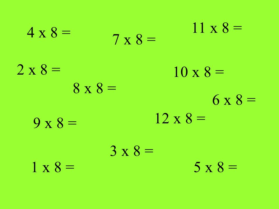 How well do you KNOW your 9 times table .Play the following game Are you ready .