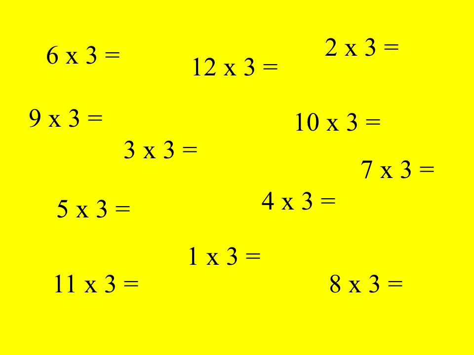 How well do you KNOW your 4 times table .Play the following game Are you ready .