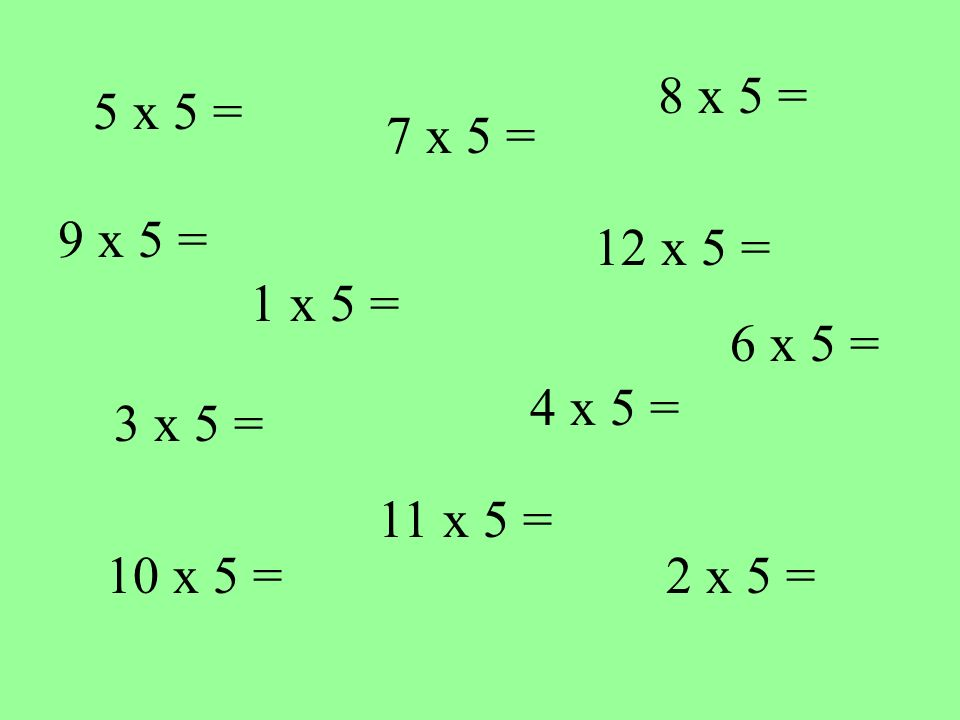 How well do you KNOW your 6 times table .Play the following game Are you ready .