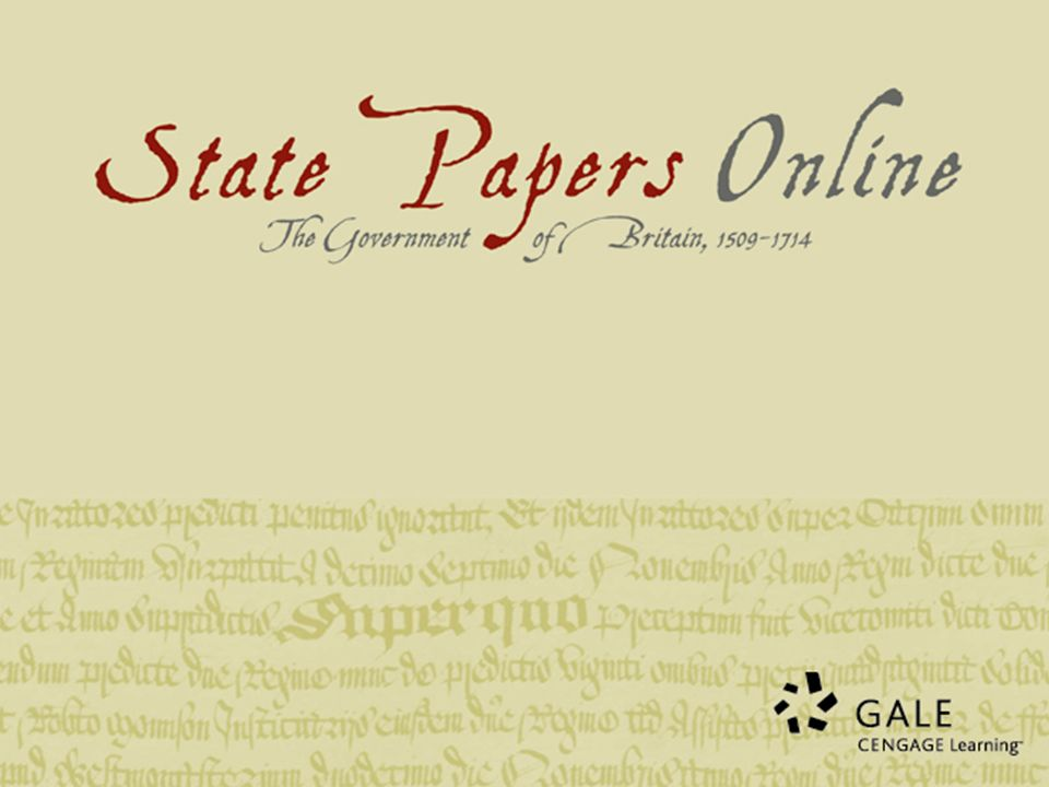 What makes State Papers Online a really valuable research archive for Early Modern research.