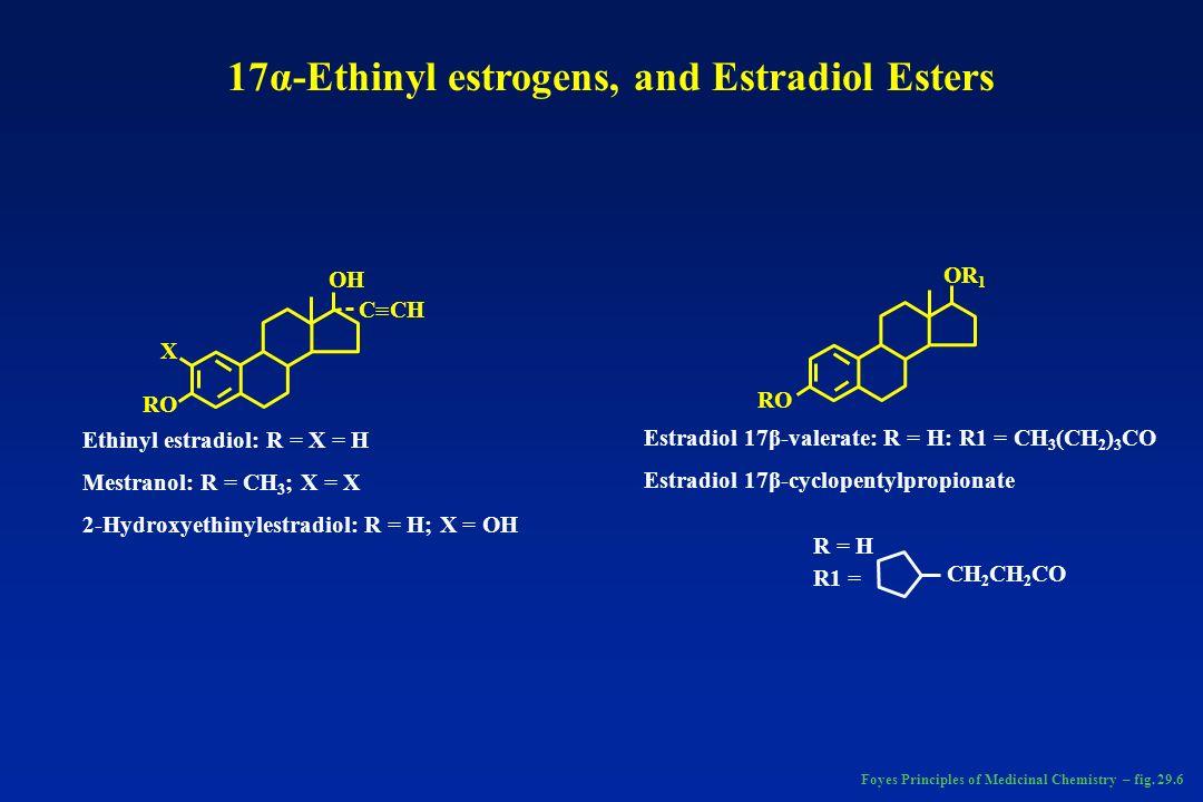 O O Progesterone Foyes Principles of Medicinal Chemistry – pag 685
