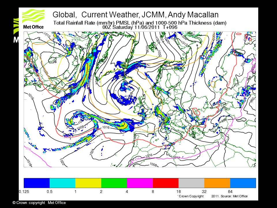 © Crown copyright Met Office Global Internal web page Adrian Semple Forecast differences