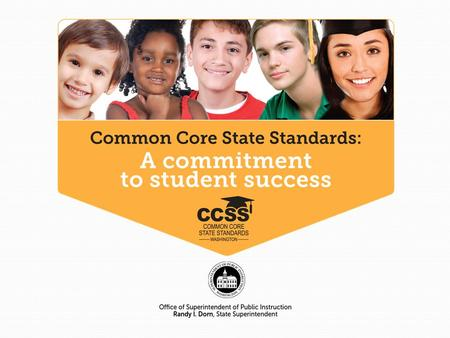 """These standards are not intended to be new names for old ways of doing business."" (CCSS-M) NWMC 10/11/132."