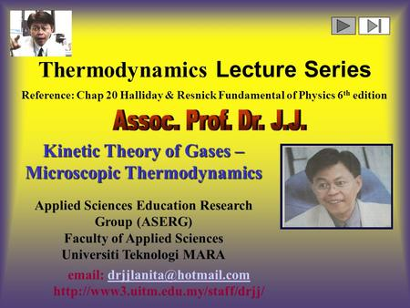 Thermodynamics Lecture Series    Applied Sciences Education Research.