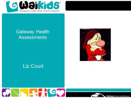 Gateway Health Assessments Liz Court. Overview GATEWAY HEALTH ASSESSMENT SERVICE: Who are we Who do we see Why do this What do we do How have we done.