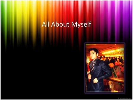 All About Myself.