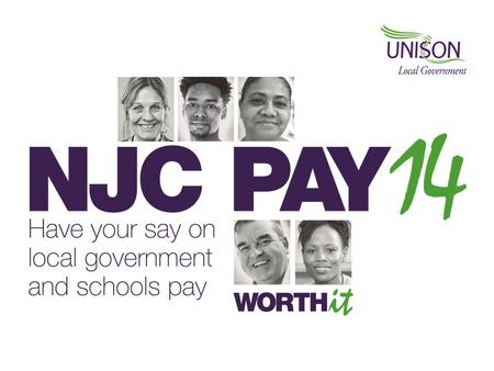 The 2014-15 pay claim A minimum increase of £1 an hour on scale point 5 to achieve the Living Wage and the same flat rate increase on all scale points.