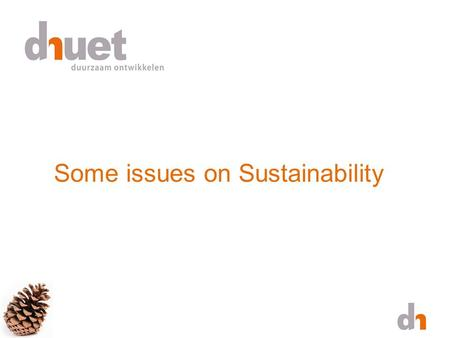 Some issues on Sustainability. *Video by RealEyesvideo via YouTubeRealEyesvideoYouTube.