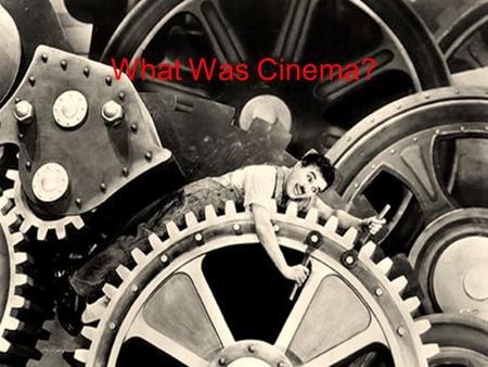 "What Was Cinema?. Rodowick begint met het einde van de film 1989: film wordt video In the current time of rapid technological change, ""film"" as a photographic."