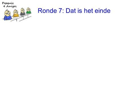 Ronde 7: Dat is het einde. 1.the Beach Boys: Tears in the morning.