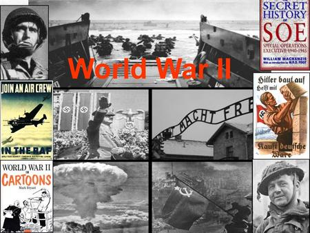 World War II. Why do wars occur? Nations compete over natural resources. Individuals demand greater political and economic freedom. Visit www.worldofteaching.comwww.worldofteaching.com.