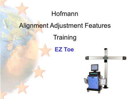 Hofmann Alignment Adjustment Features Training EZ Toe.