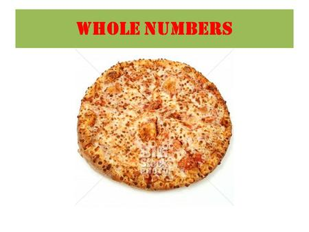 WHOLE NUMBERS. Key Words Numbers to 100 000 Student Outcome: I can describe numbers to 100 000 hundred tenone thousand Place Value In the base ten number.