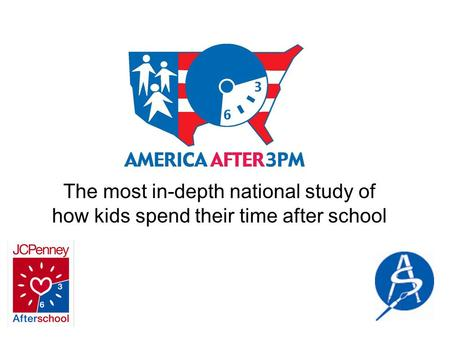 The most in-depth national study of how kids spend their time after school.