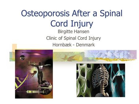 Osteoporosis After a Spinal Cord Injury