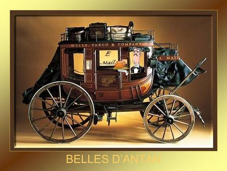 BELLES D'ANTAN Berliet 1900 Queen Model E Tourng 1905.