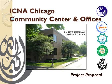 ICNA Chicago Community Center & Offices Project Proposal.