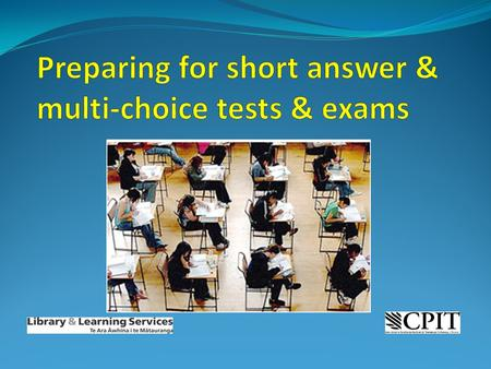 What we'll cover: Tips for answering short answer questions Tips for answering multiple choice questions.