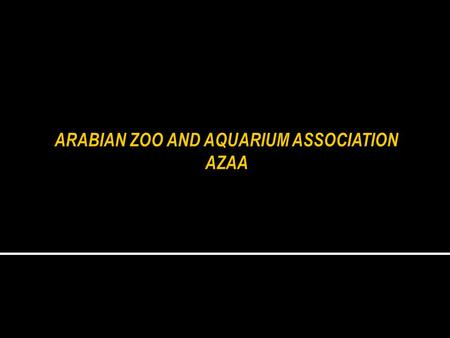  To bring together for the first time representatives from the major Zoos and Aquariums in the region to share their values and mission with each other.