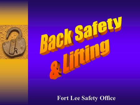 Fort Lee Safety Office.