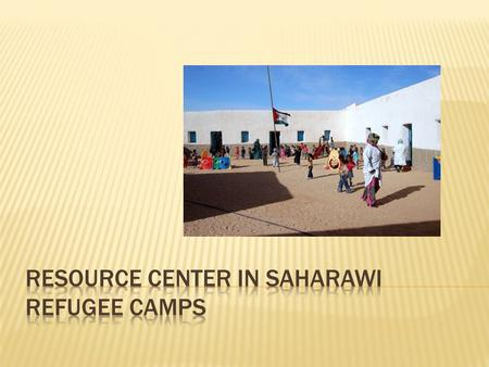  Brief geography/history  The refugee camps  Our project.