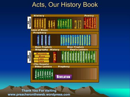 "Acts, Our History Book. ""…The book is designed for the enlightenment of Christians generally concerning the historic origins of Christianity. It is in."
