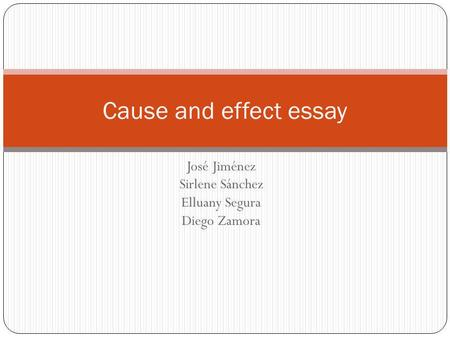 essay outline powerpoint