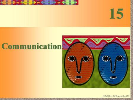 15 Communication.
