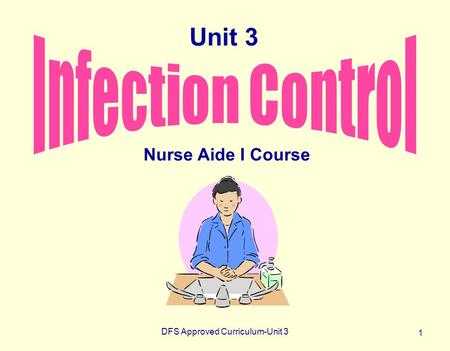 DFS Approved Curriculum-Unit 3 1 Nurse Aide I Course Unit 3.