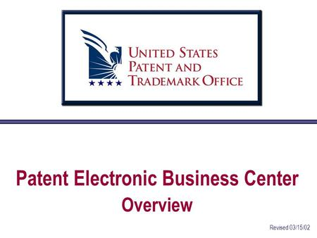 1 united states patent and trademark office patent application information retrieval ppt download - United states patent and trademark office ...