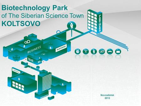 Biotechnology Park of The Siberian Science Town KOLTSOVO Novosibirsk 2013.