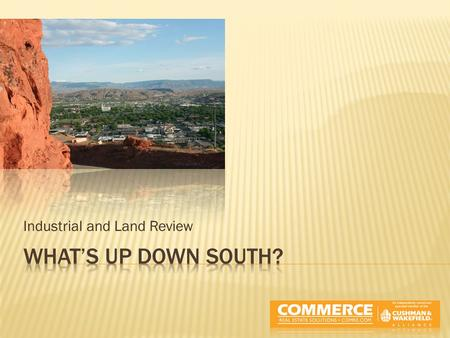 Industrial and Land Review. Washington County Square FootageVacancy.