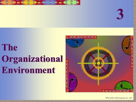 Irwin/McGraw-Hill ©The McGraw-Hill Companies, Inc., 2000 3-1 The Organizational Environment 3 3.